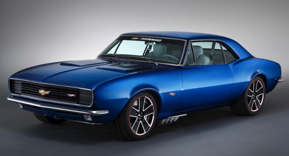 1967 Chevrolet Camaro Hot Wheels Front View