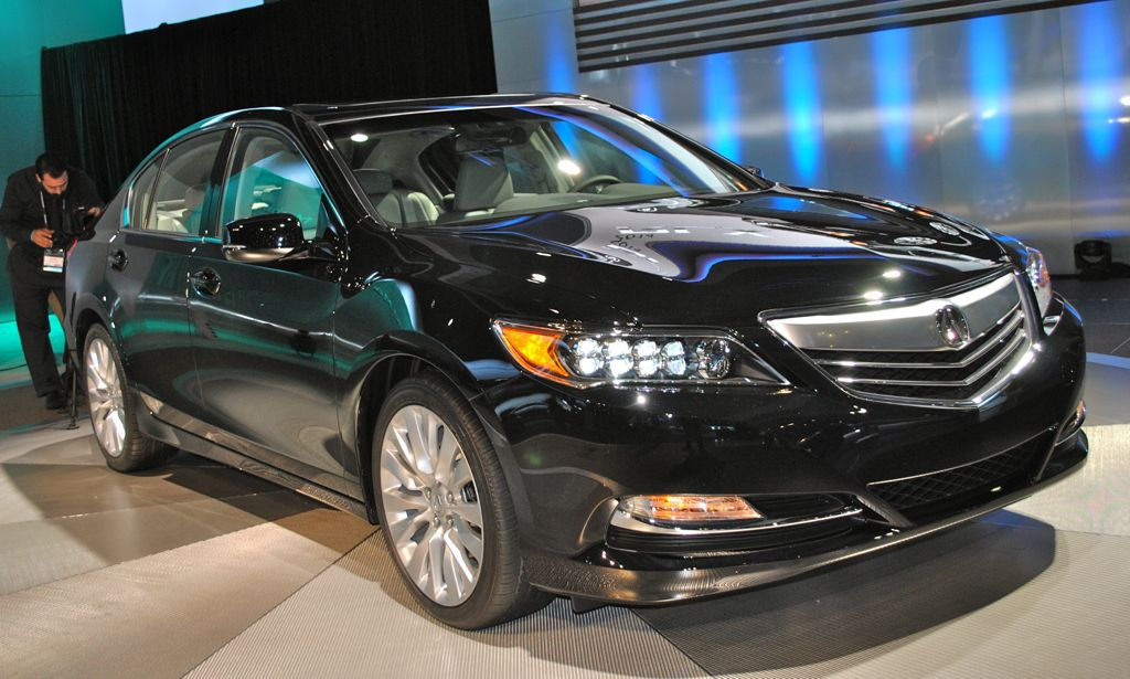 2012 LA: 2014 Acura RLX Rear Main