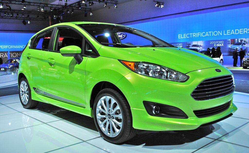 2012 LA: 2014 Ford Fiesta Front 3/4 View