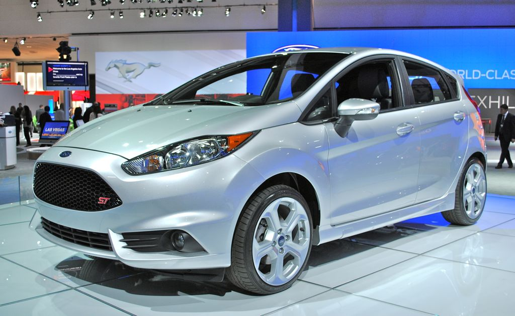 2012 LA: Ford Fiesta ST Front 7/8 View