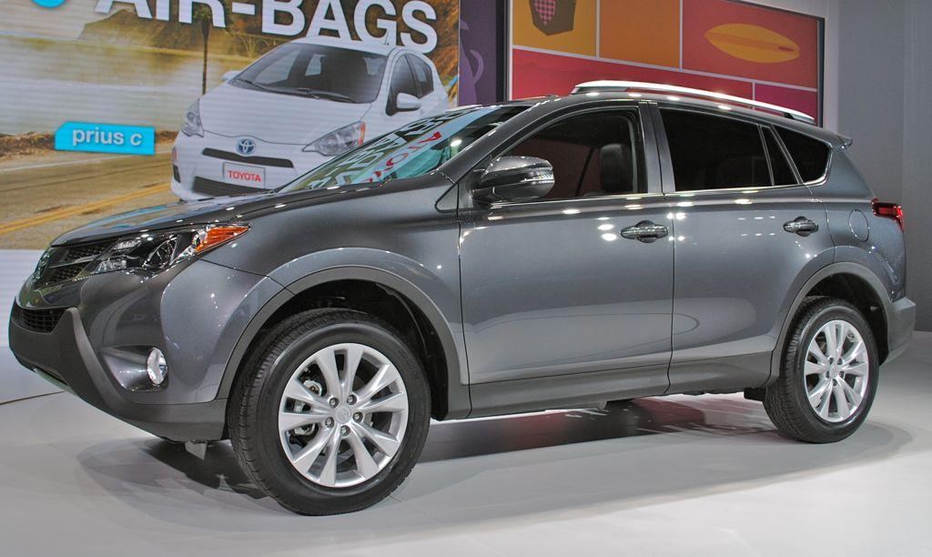 2012 LA: 2014 Toyota RAV4 Front Quarter View