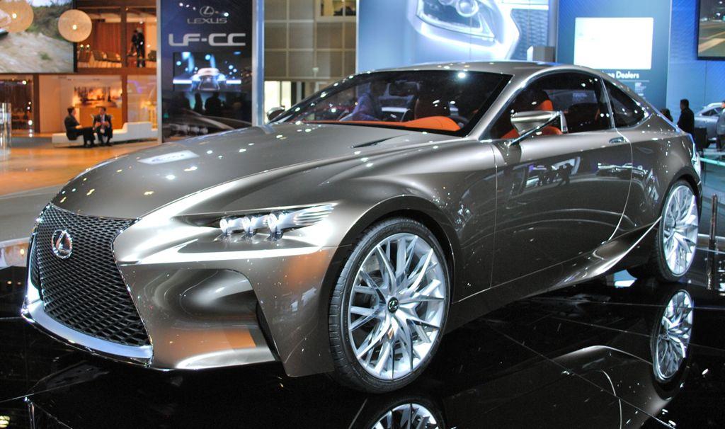 2012 LA: Lexus LF-CC Concept Main