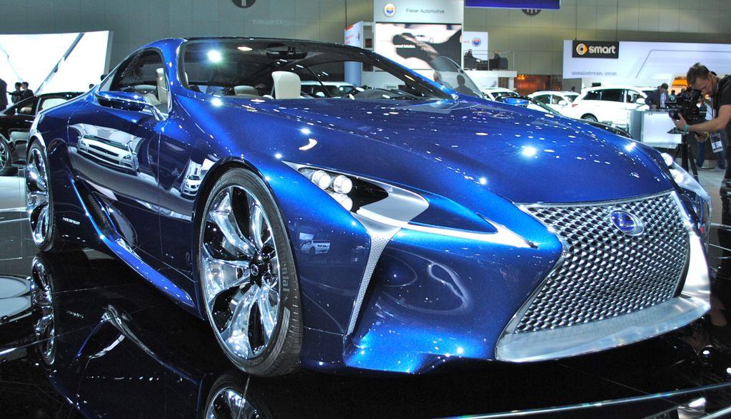 2012 LA: Lexus LF-LC Blue Concept Front 3/4 Angle