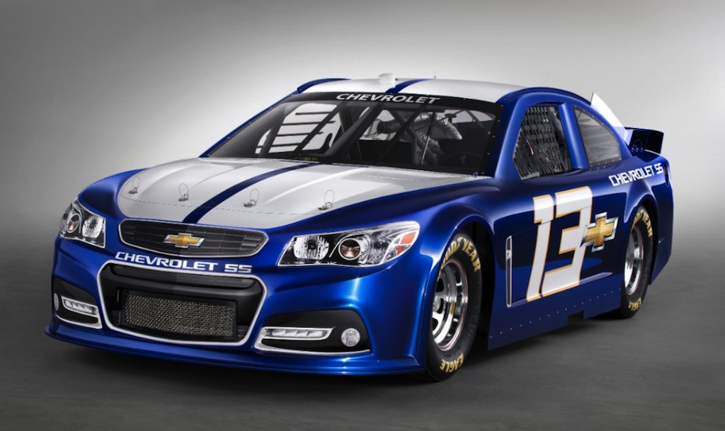 2013 Chevrolet SS NASCAR Front 3/4 View 13