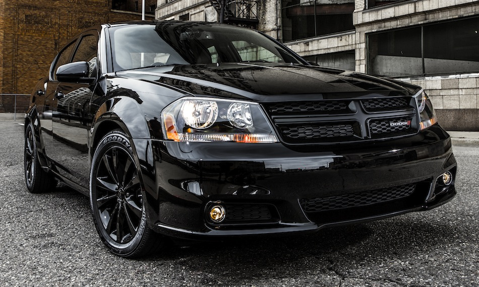 2013 Dodge Avenger Blacktop Edition Front 3/4