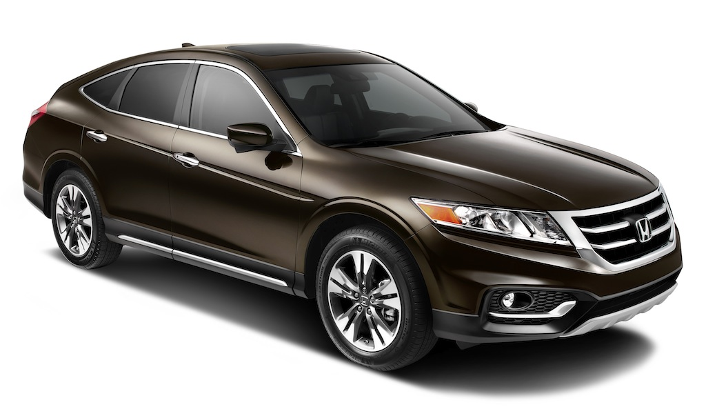 2013 Honda Crosstour Front 7/8 Angle View