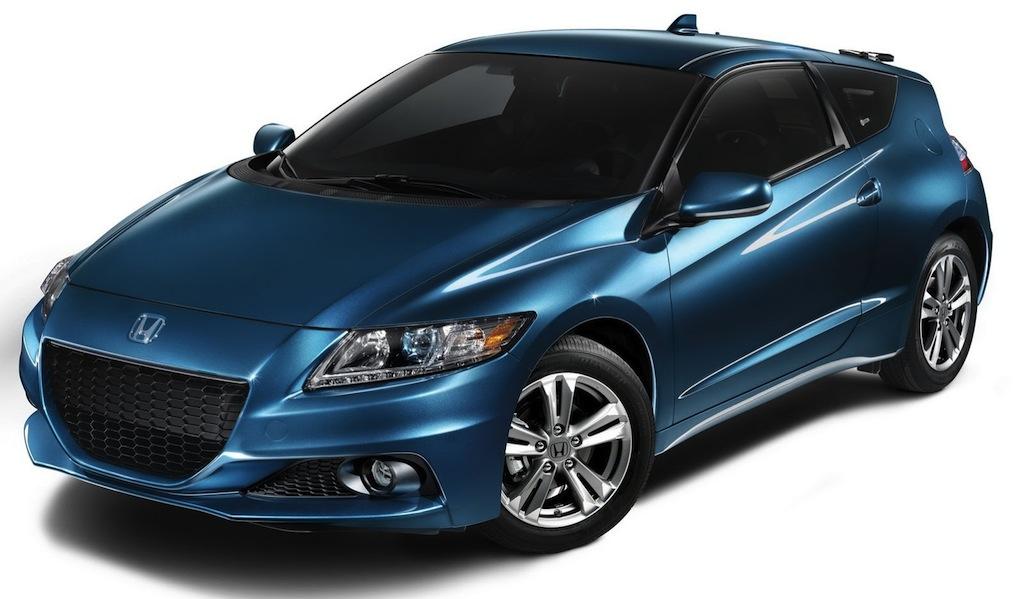 2013 Honda CR-Z Hybrid Front 3/4 View