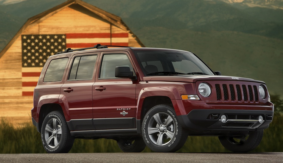 2013 Jeep Patriot Freedom Edition Front 3/4 View