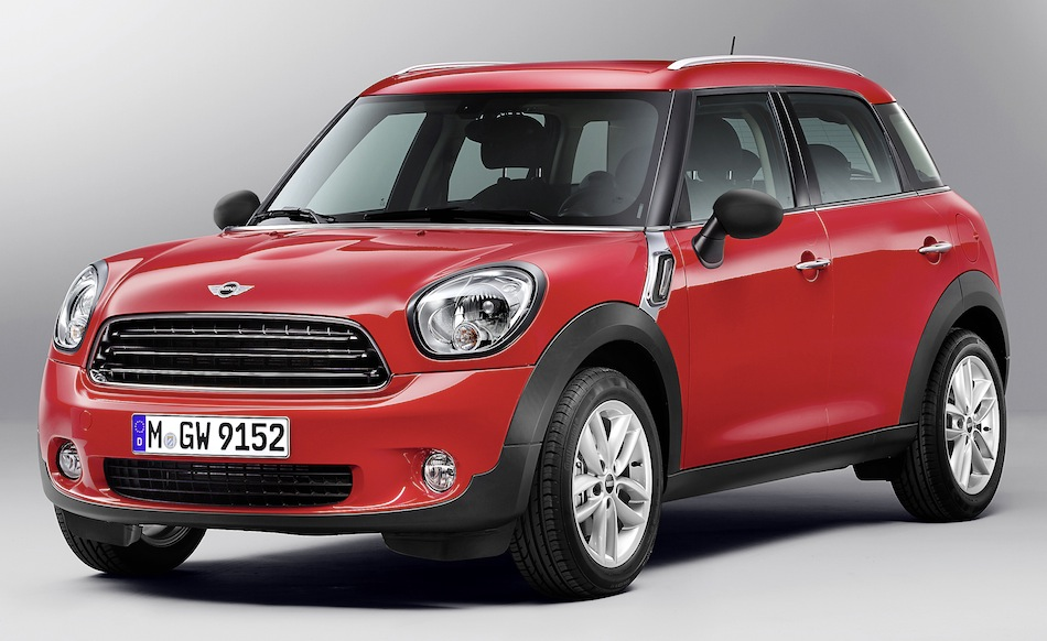 2013 Mini Countryman Front 7/8 View
