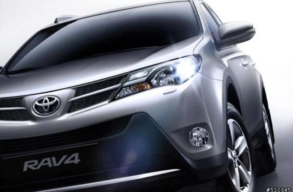 2014 Toyota RAV4 Leak Front Fascia