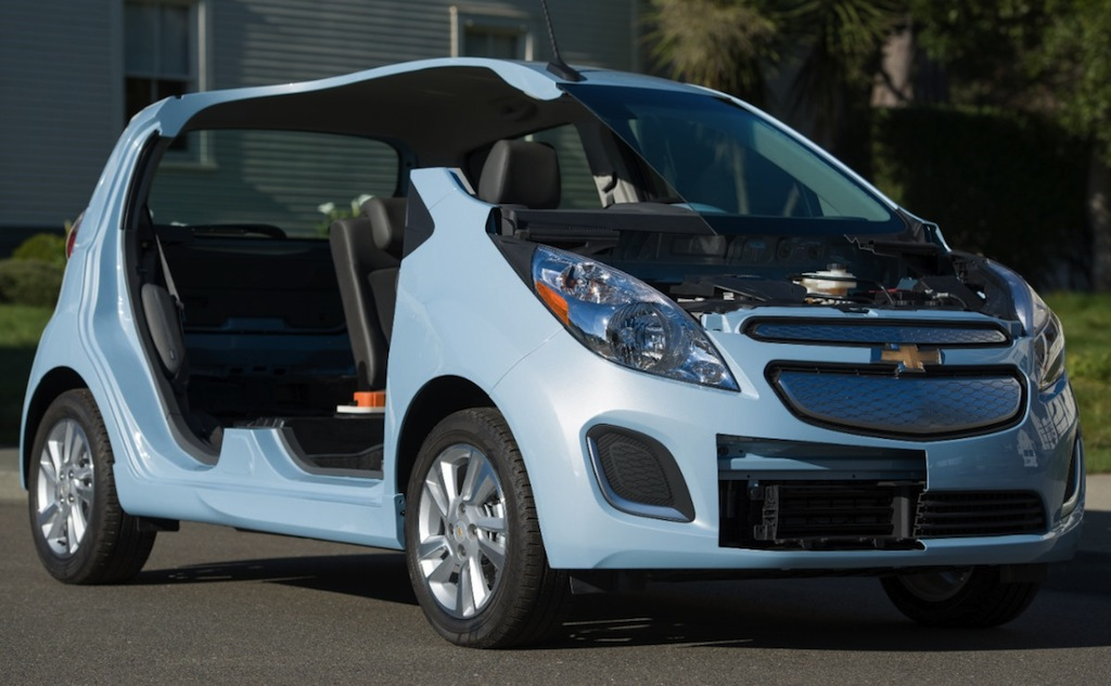 2014 Chevrolet Spark EV Prototype Main Shot