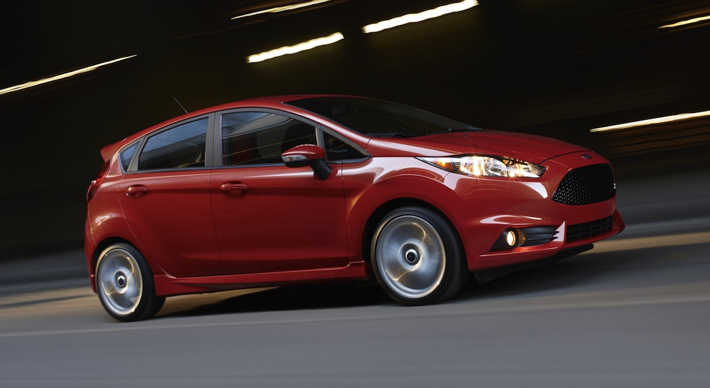 2014 Ford Fiesta ST US Side Action View