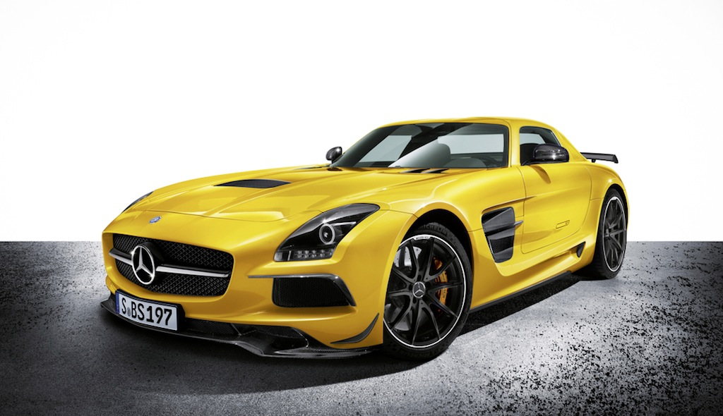 2014 Mercedes-Benz SLS AMG Black Series Front 3/4 View