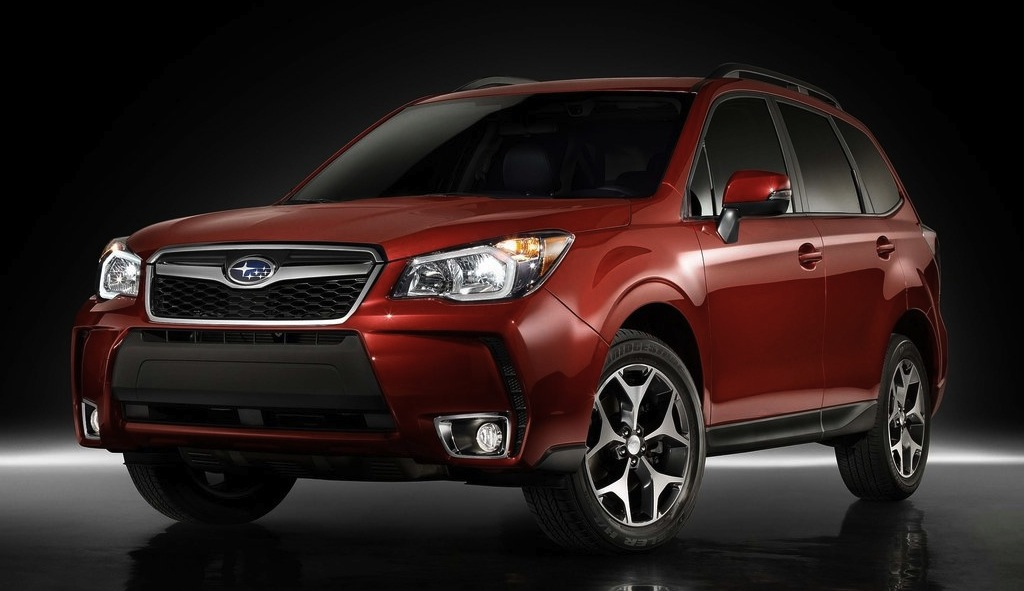 2014 Subaru Forester Orange