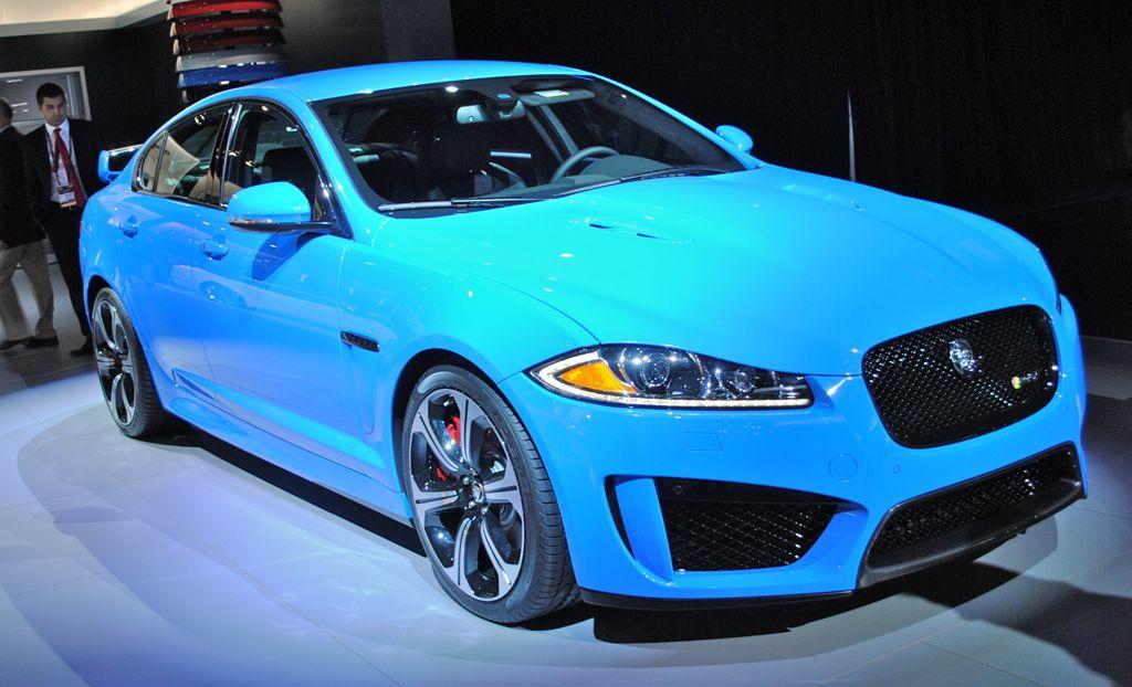 2012 LA: 2014 Jaguar XFR-S Front 7/8 View