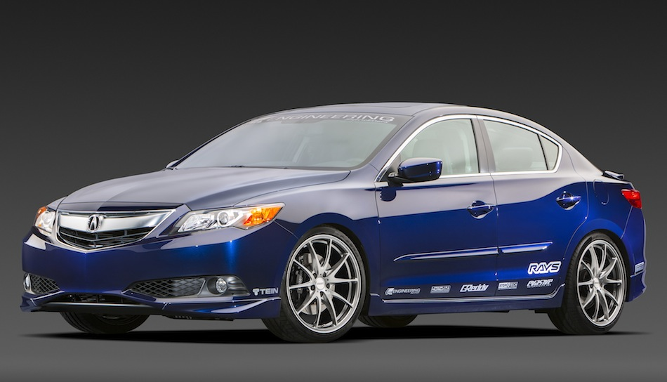 2013 Acura Supercharged ILX Street Build Front View