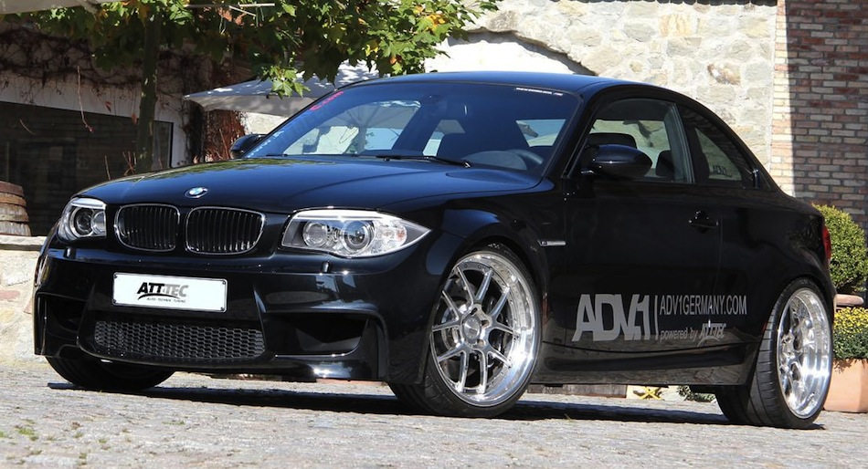 ATT-TEC BMW 1-Series M Coupe Front 7/8 View