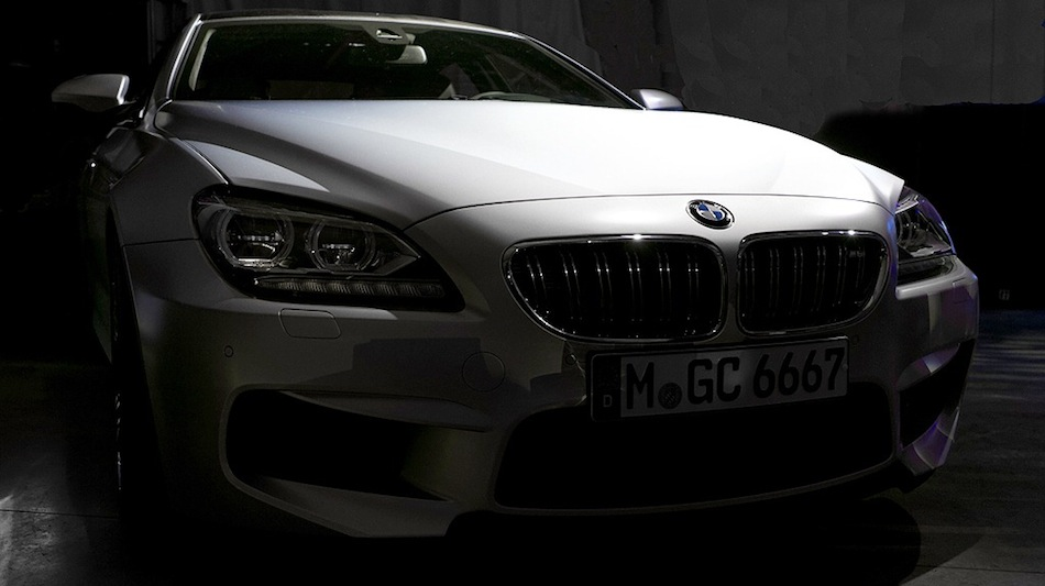 BMW M6 Gran Coupe Teaser Front