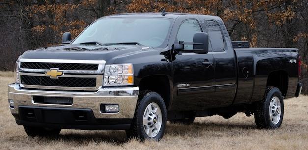 Chevrolet Silverado HD bi-fuel