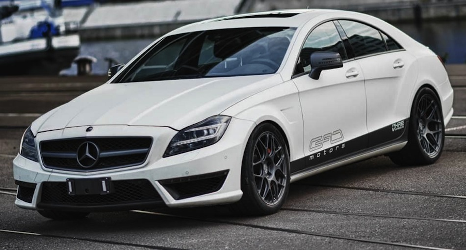 GAD Mercedes-Benz CLS 63 AMG V8 Bi-Turbo Front 3/4 View