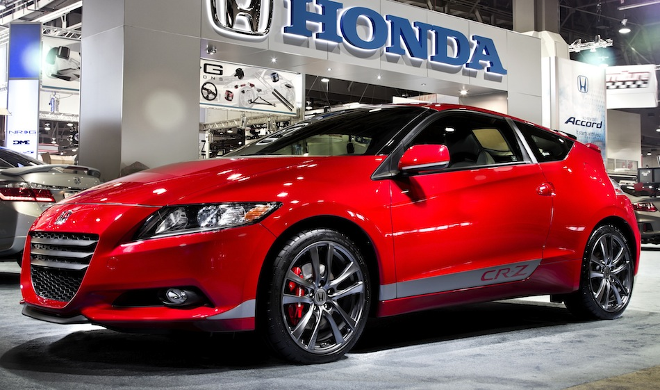 HPD Supercharged Honda CR-Z Front 7/8 View