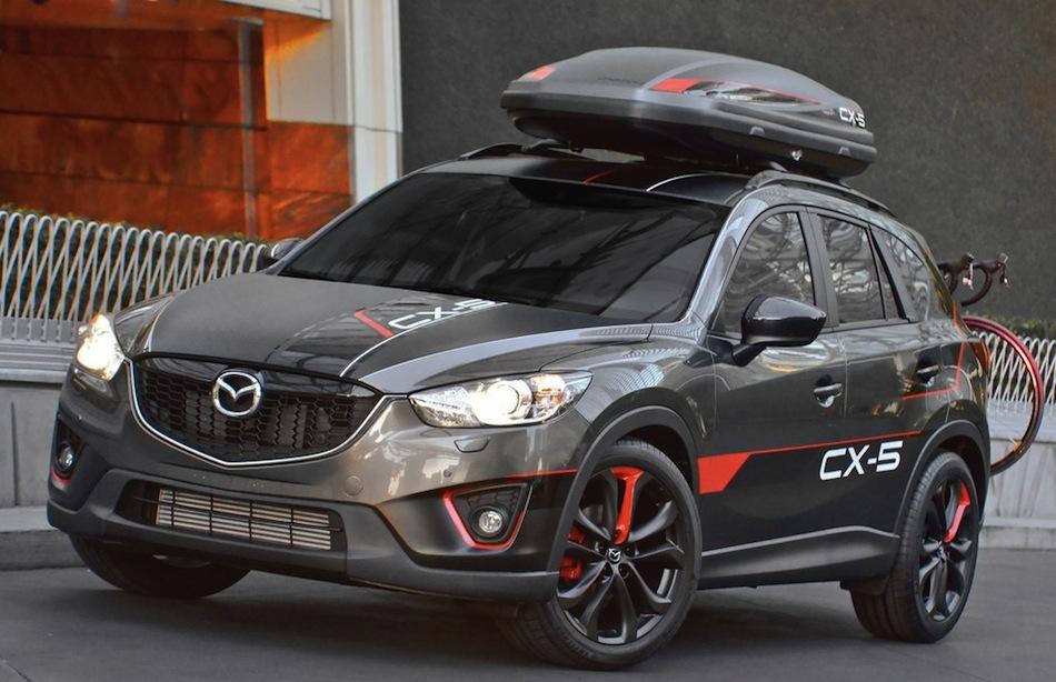 Mazda CX-5 Dempsey Concept Front 3/4 Angle