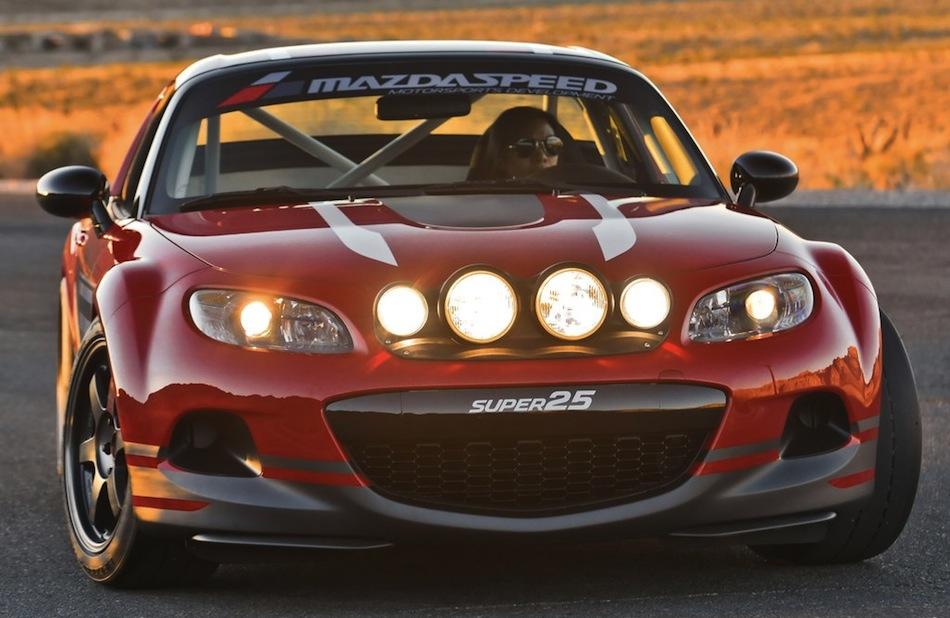Mazda MX-5 Super 25 Concept Front 3/4 Angle