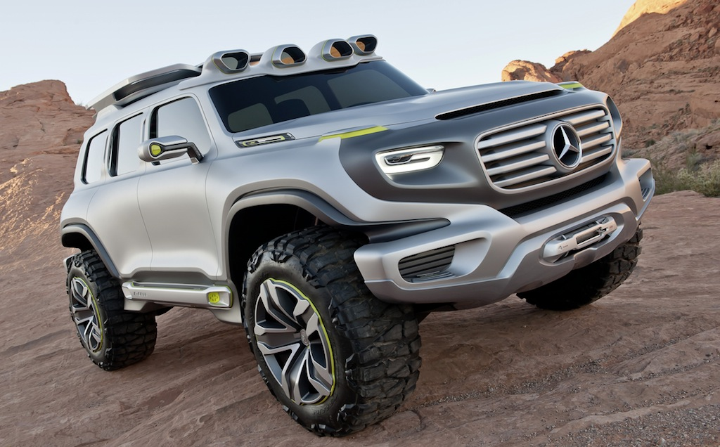 Mercedes-Benz Ener-G-Force Concept Front 3/4 Angle Shot