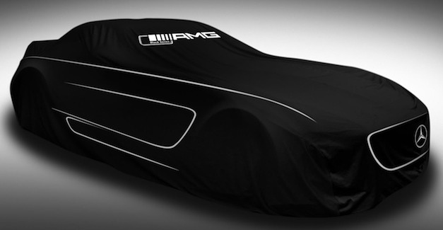 2013 Mercedes-Benz SLS AMG Black Series teased