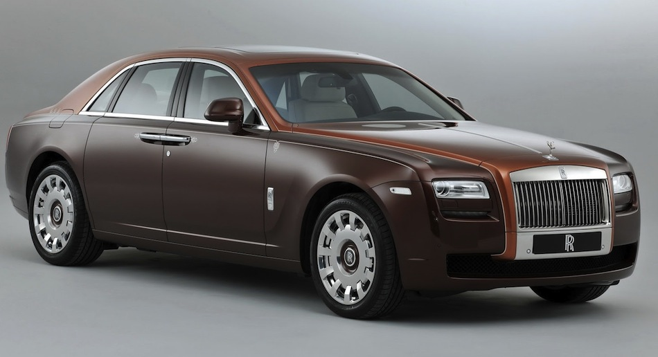 Rolls-Royce One Thousand and One Nights Ghost Front Angle