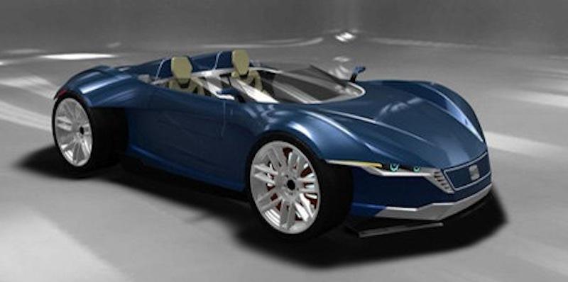 Seat Axon Concept Front 7/8 View