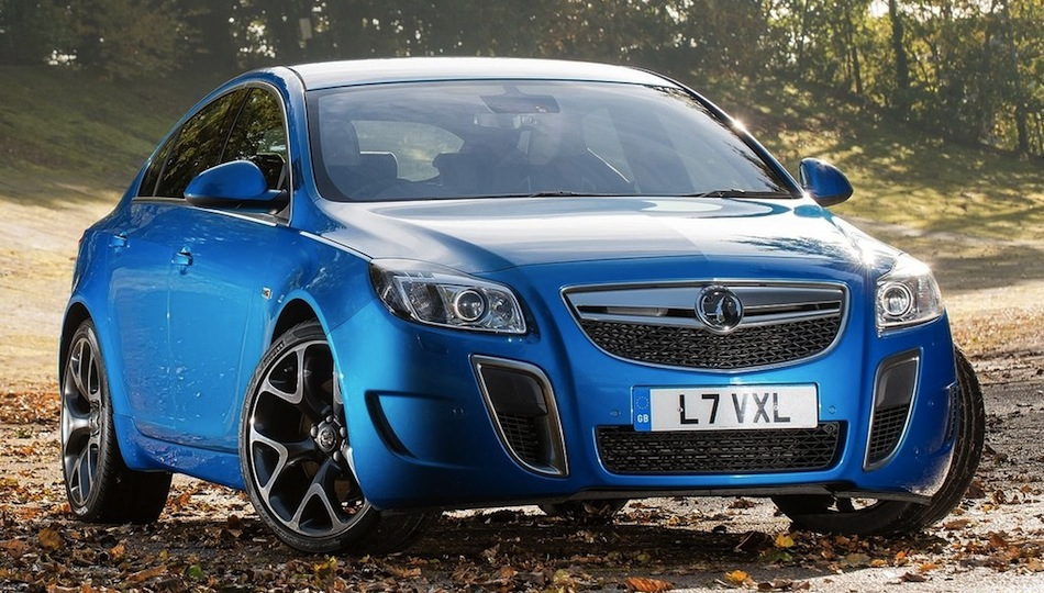 2013 Vauxhall Insignia VXR SuperSport Front