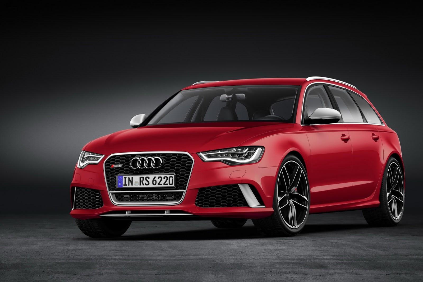 2014 Audi RS6 Avant Front 7/8 Angle