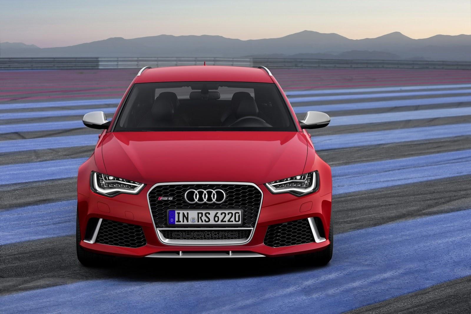 2014 Audi RS6 Avant Front View