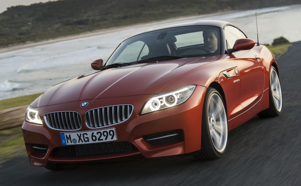 2014 BMW Z4 Front 3/4 Angle