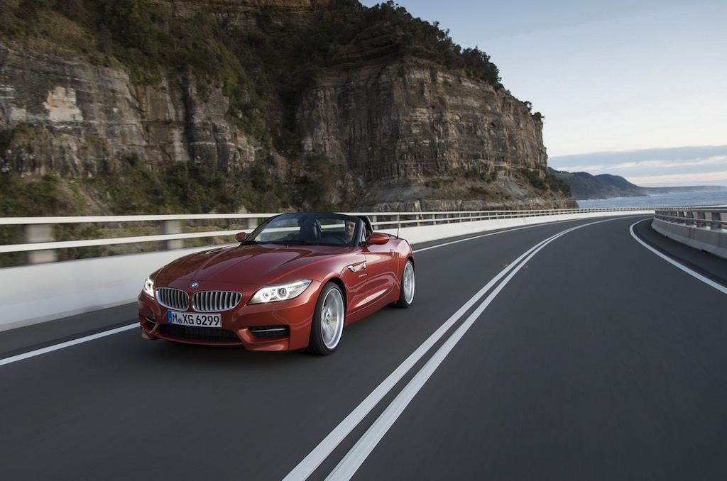 2014 BMW Z4 Front Wallpaper