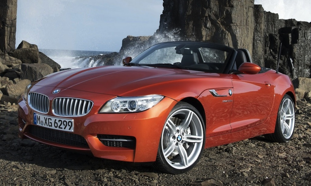 2014 BMW Z4 Front Quarter Angle