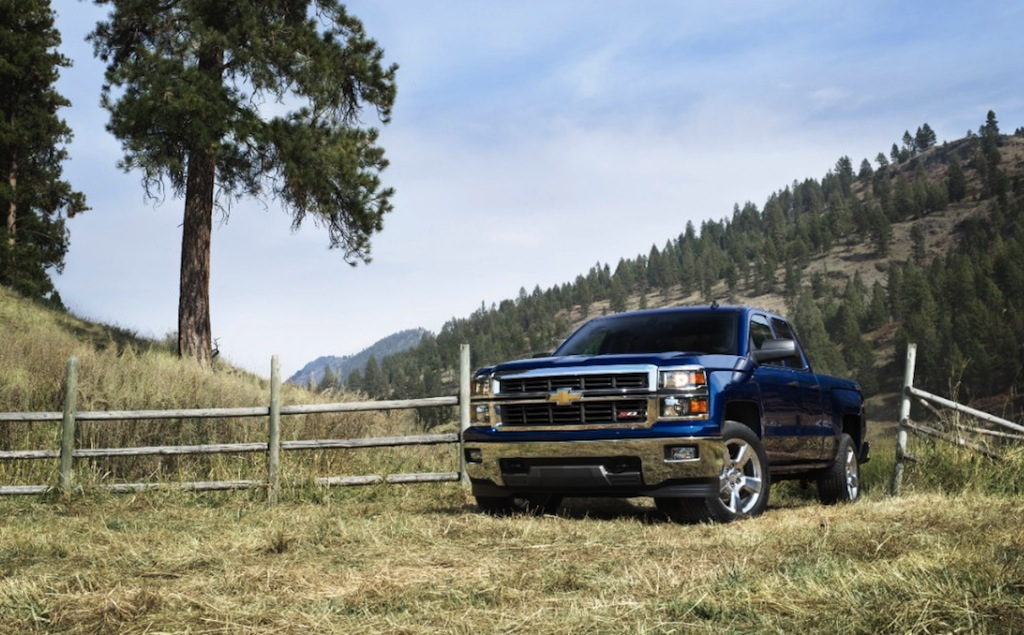 2014 Chevrolet Silverado ZL1 Front 3/4 View