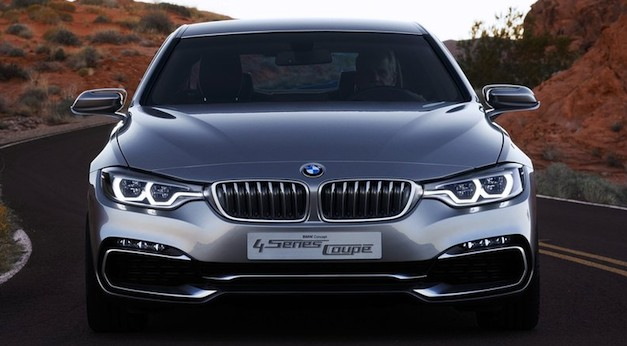 BMW 4 Series Coupe Concept Front