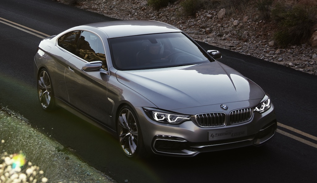 BMW 4 Series Coupe Concept Front Top View