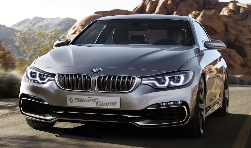 BMW 4 Series Coupe Concept Front 3/4 View