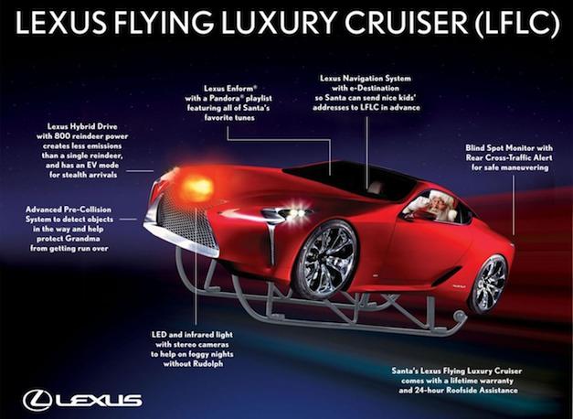 Lexus LF-LC Sleigh Concept