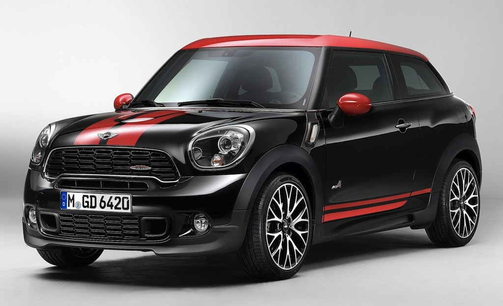 2014 Mini John Cooper Works Paceman Front 7/8 View