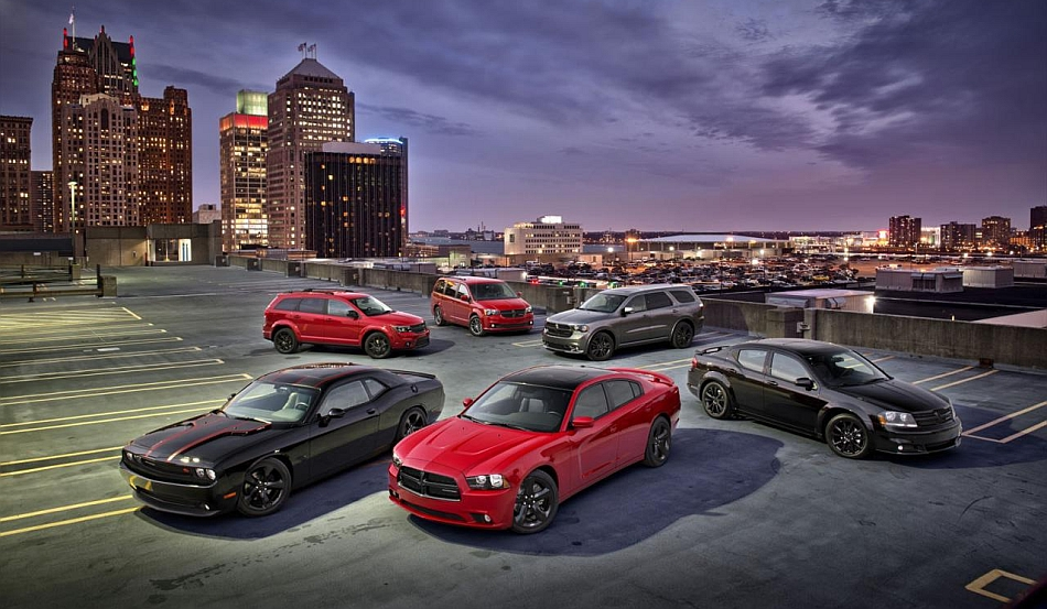 2013 Dodge Blacktop Lineup