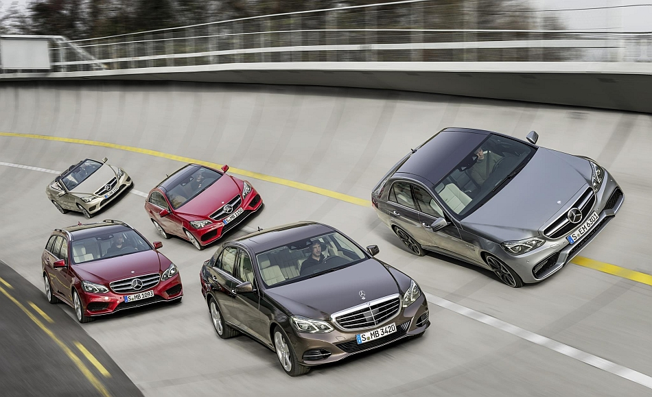 2013 Mercedes-Benz E-Class Line-Up