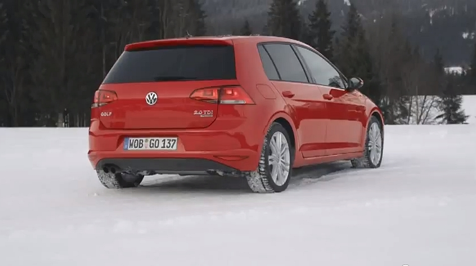 2013 Volkswagen Golf 4MOTION Ad Spot EU