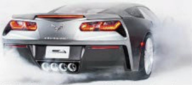 2014 Chevrolet Corvette Rear Leak