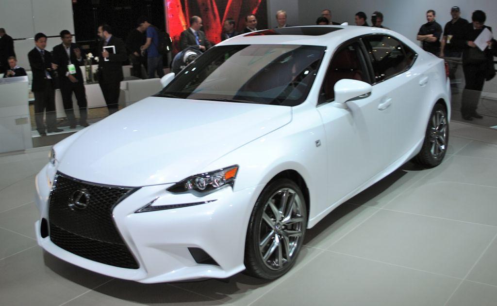 2013 Detroit: 2014 Lexus IS Sedan Main