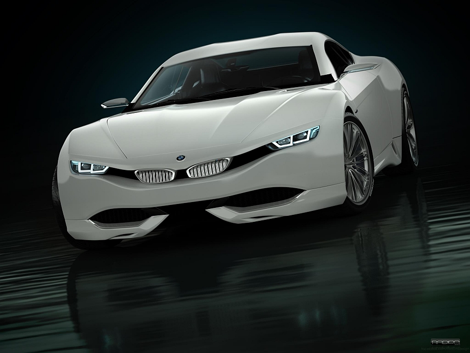 Radion Design BMW M9 Front 7-8 Left Studio