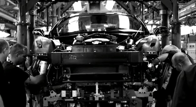 Chevrolet Corvette Production